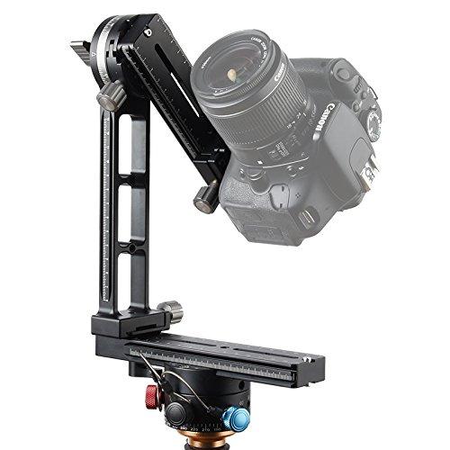 Light Stand Gimbal: CONXTRUE Pro 360 Degree Swivel Panoramic Tripod Ball Head