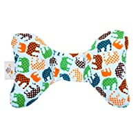 Baby Elephant Ears Head Support Pillow for Car Seat, Stroller, Swing, Bouncer...