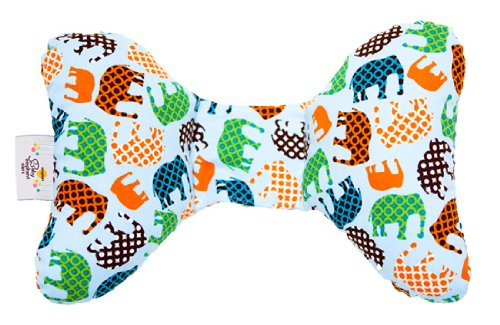 Baby Elephant Ears Head Support Pillow for Car Seat, Strolle