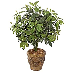 37 Inch Outdoor Rhododendron Bush Polyblend UV Foliage 31
