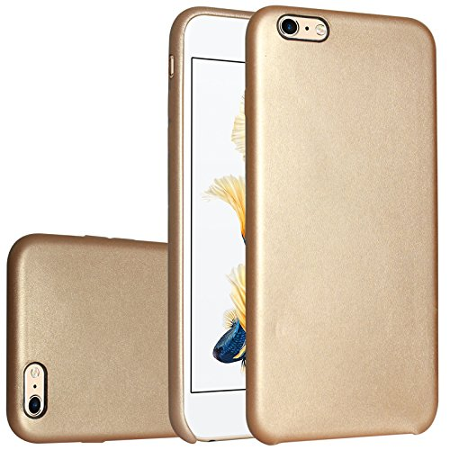 DMG inKax Premium PU Leather Back Cover Case for Apple iPhone 6s / iPhone 6  Glod