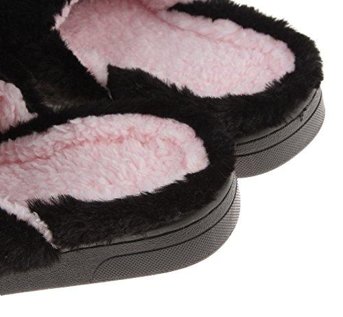 Femme Patte Chausson Chaussure Pantoufle Mignon d'ours Chaud Forme en Vert Eozy d'Hier Peluche 8qw5aqE
