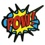 PinMart's POW! Comic Book Art Enamel Lapel Pin