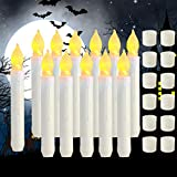 Raycare 12PCS LED Flameless Taper Candle