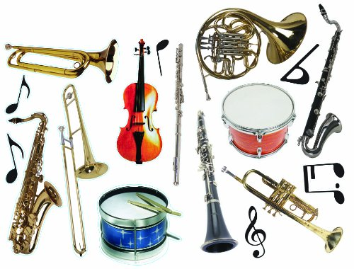 Eureka Photo Orchestral Instruments Deco Kit (840313)