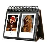 Amazing Works 68 Pockets Desk Calendar Album for Fuji Instant...