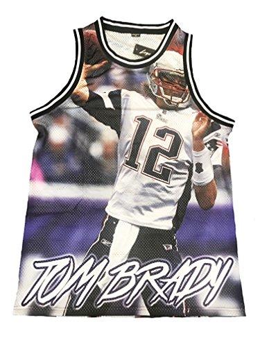 Brady Men's Quarterback TB 12 Football Jersey Limited Edition (Medium)