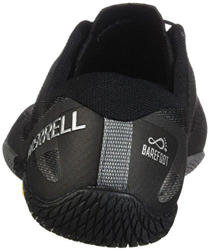 Merrell Mens Vapor Glove 3 Trail Runner Nero / Argento