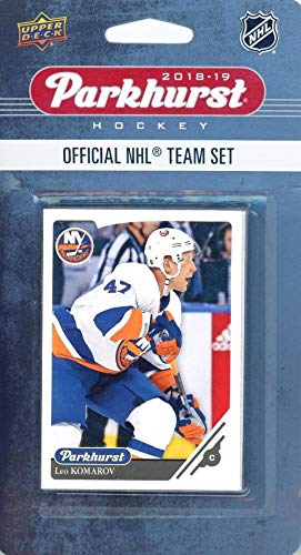 New York Islanders 2018/19 Upper Deck Parkhurst NHL Hockey EXCLUSIVE Limited Edition Factory Sealed 10 Card Team Set including Mathew Barzal, Jordan Eberle & All the Top Stars & RC's! WOWZZER!