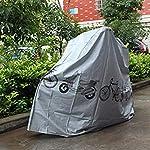 CandyTT-Telo-Copri-Bici-Impermeabile-Ciclismo-Portatile-Pioggia-Neve-Polvere-Resistente-al-Sole-Copri-Bici-da-Esterno-per-Interni-Accessori-Moto-Grigio
