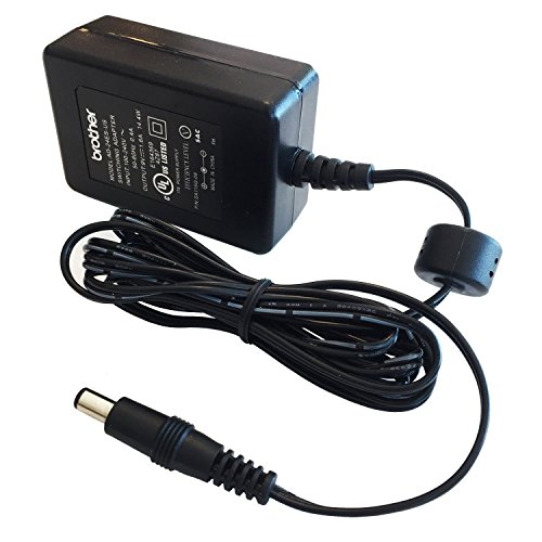 Brother AD-24ES AC Power Adapter for Brother P-Touch Label Makers (Black)