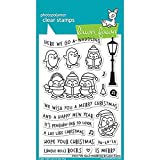 LAWN FAWN Clear Stamps 4''X6'' Here We Go A-Waddling (LF1468)