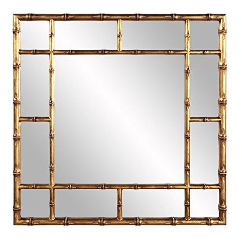 Howard Elliott 92120 Bamboo Mirror, Gold, One Size