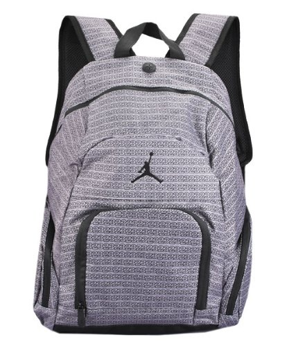 3656bc9b55fb top quality nike jordan retro 12 backpack 3de6a f45df  promo code jordan  boys grey 23 print backpack grey black or black 34f07 0a6d4