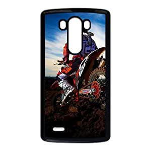 LG G3 Cell Phone Case Black Motocross Custom Phone Case Cover Active XPDSUNTR14976