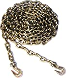 Koch 818456 Binder Chain, Grade 70 Trade Size 5/16 by 20 Feet, Yellow Chromate Plated