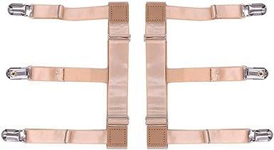 wlgreatsp De los hombres Camisa de vestir Permanece muslo de la pierna Ligas liga Mantenga camisa por dentro: Amazon.es: Ropa y accesorios