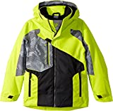 Obermeyer Kids  Boy's Outland Jacket (Little Kids/Big Kids) Green Flash Large
