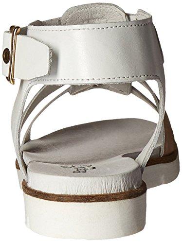 Bos. & Co. Sandalo Donna Cindy Plateau Bianco / Cristallo Nudo