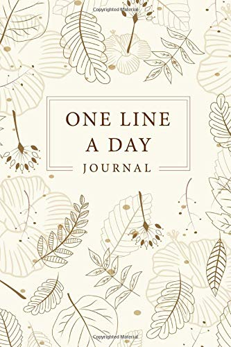 One Line A Day Five Year Memory Book  Every Day For 365 Day Dated And Lined Book Record Memories 5 Year Journal Notebook Writing A Daily Journal ... Day A Five Year Memory Book   Volume 2