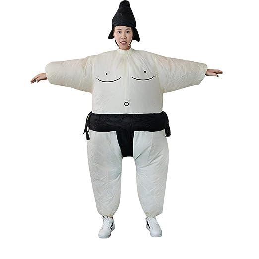 Fannty Vestido Hinchable de Sumo Hombre Gordo y Traje de ...