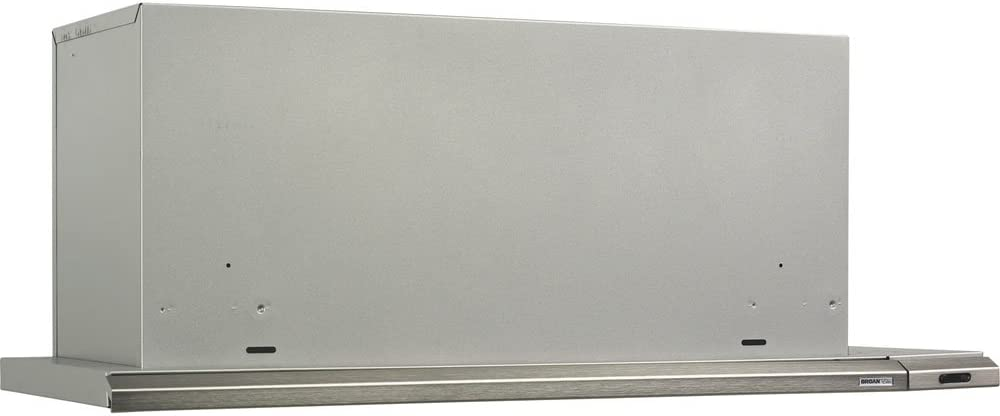 30-Inch 300 CFM Brushed Aluminum Broan 153004 Slide Out Range Hood