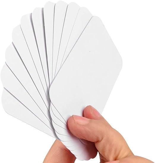 5er Pack Karteikartenblock mit je 120 Karteikarten DIN A8 liniert weiß