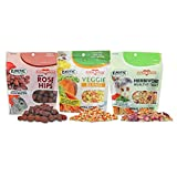 Exotic Nutrition Herbivore Treats (3 Pack) - for