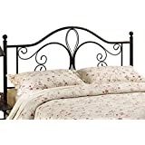 Hillsdale Milwaukee King Headboard without Bed Frame, Antique Brown