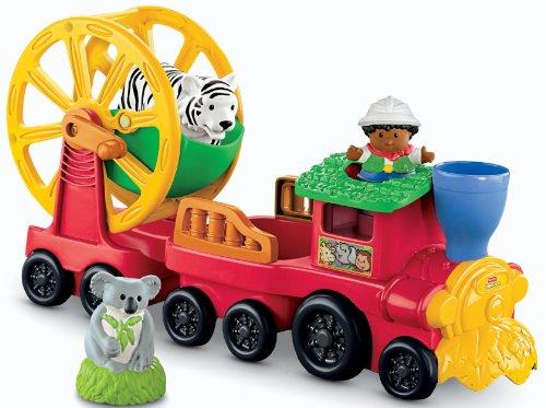 Fisher Price Little People Animal Sounds Zoo - Fisher-Price Little People Zoo Talkers Animal Sounds Zoo Train