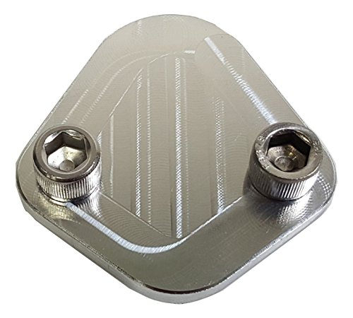 - JACER Enterprises F159-GENS31 - Universal Diamond Style Fuel Pump Block Off with 5/16