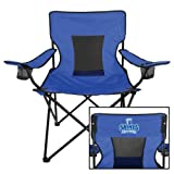 OLLU Deluxe Royal Captains Chair 'Our Lady of the Lake University Athletics - Offical Logo'