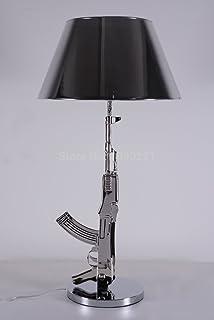 Gun Table Lamp (Silver)
