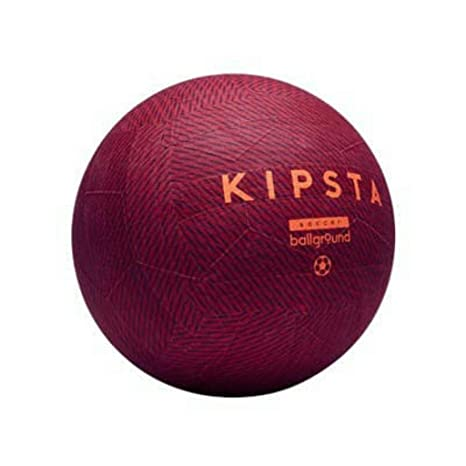 c8922fe6e Buy KIPSTA Ballground 100 Football Red Size-5 Online at Low Prices in India  - Amazon.in