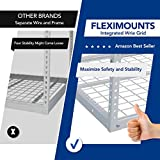 FLEXIMOUNTS 2 pcs 3x6 Overhead Garage Adjustable