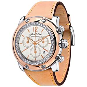 Glam Rock Women's GR10158D1 Miami Collection Diamond Accented Chronograph Watch