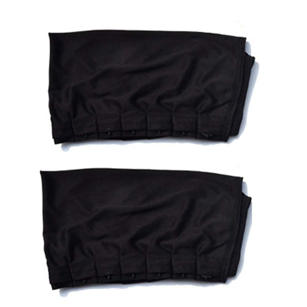 Cortinas ajustables para ventanas de coche, con visera y parasol antiUV, 2 unidades as picture show Talla:50l