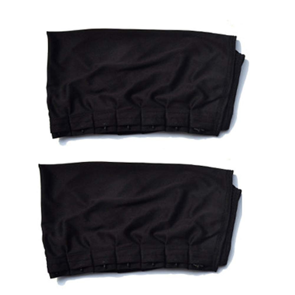 Car Window Curtains Adjustable Car Window Anti-UV Sun Shade Drape Visor Curtain Valance Cars Accessories 2Pcs(70L)