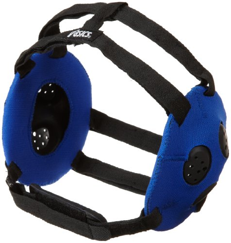 ASICS Unisex Gel Wrestling Ear Guard, Black, One Size