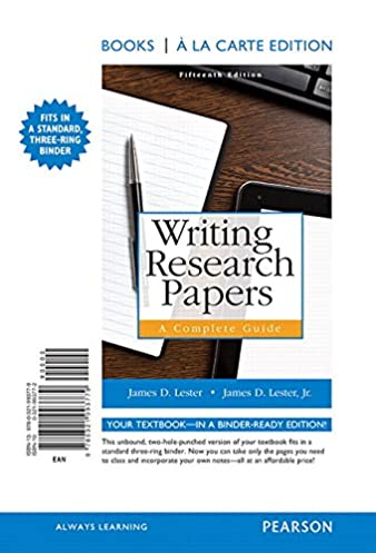 amazon com writing research papers a complete guide books a la rh amazon com Crime Writing a Research Paper Typing Research Paper