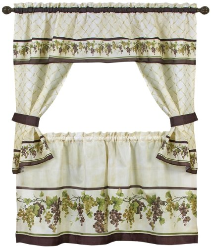 (Achim Home Furnishings Tuscany Cottage Set, 36-inch, Multi)