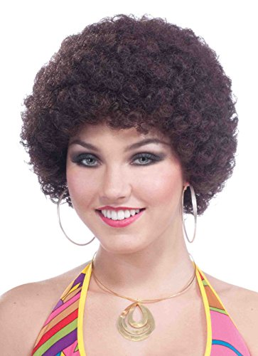 Forum Novelties Party Afro Wig, Brown ()