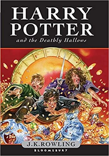 Image result for harry potter and the deathly hallows hardcover