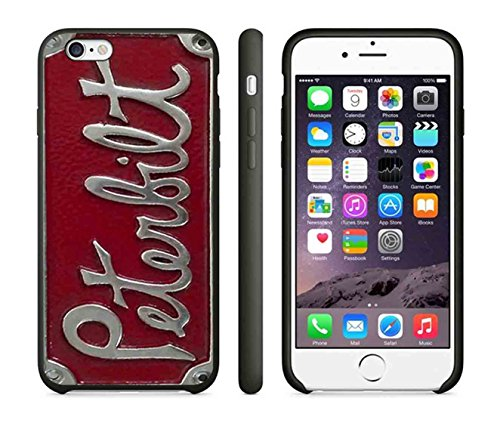 Peterbilt 3 IPhone Case Iphone 6 Case or Iphone 6S Black Rubber - First Shipping Usps Rates International Class