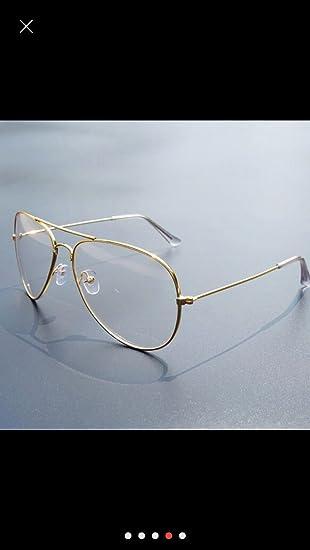 Ikevan 2017 Fashion Retro Men Women Clear Lens Glasses Metal Spectacle  Frame Myopia Eyeglasses Lunette Fe cb9fd2afe816