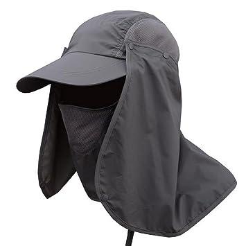 c319ff29b3b VPASS-Sun Hats Unisex Wide 360° UV Protection Brim Sun Hat Protection Caps  Floppy
