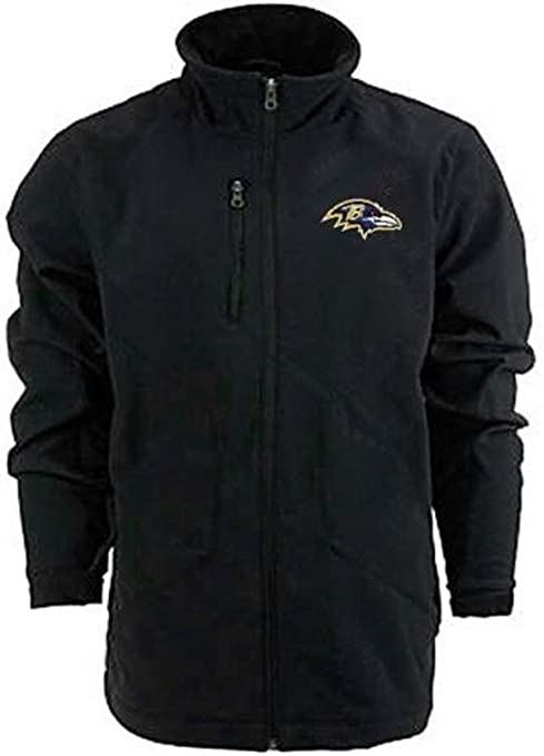 hot sale online e53a6 5cd18 Amazon.com : Baltimore Ravens NFL Mens G-III Soft Shell Full ...