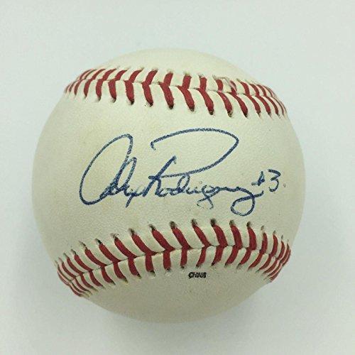 Alex Rodriguez Signed Ball - Rare 1994#3 Pre Rookie Official Minor League - JSA Certified - Autographed Baseballs