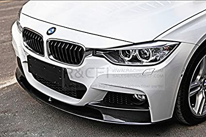 d14c25a2275 Image Unavailable. Image not available for. Color  For BMW F30 M  Performance Style Carbon Front Lip ...