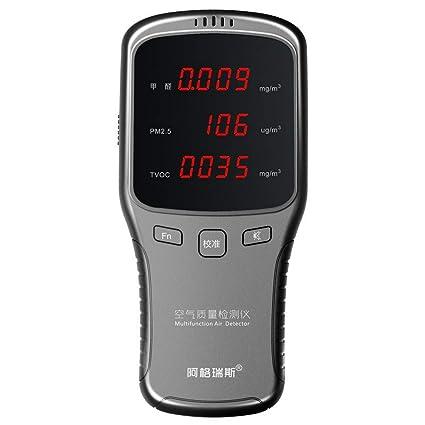 Hengyuanyi Detector de gas digital Sensor de alarma de detección de fugas de gas/carbón